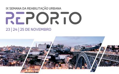 Semana da Reabilitação Urbana volta ao Porto nos dias 23, 24 e 25 de novembro
